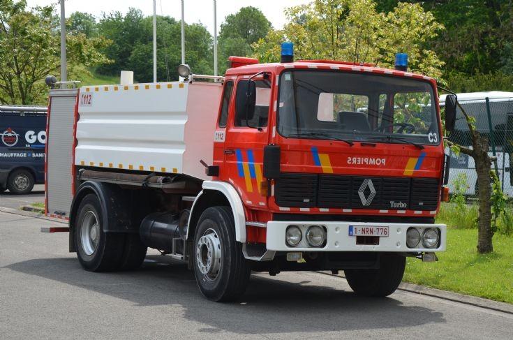 Water tanker Renault