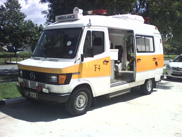 Brunei Shell Petroleum  Fire brigade Ambulance