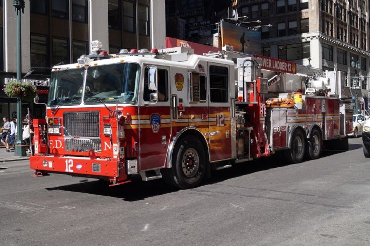 FDNY Tower Ladder 12