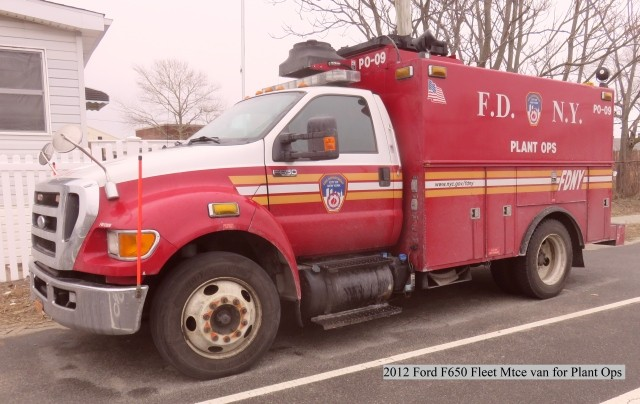 FDNY Plant Ops 2012 Ford F650