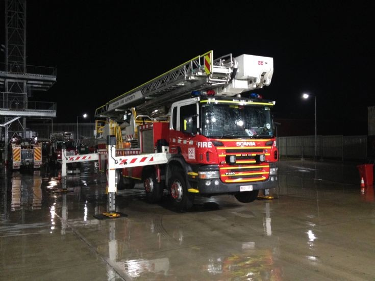Country Fire Authority Dandenong Ladder Platform.