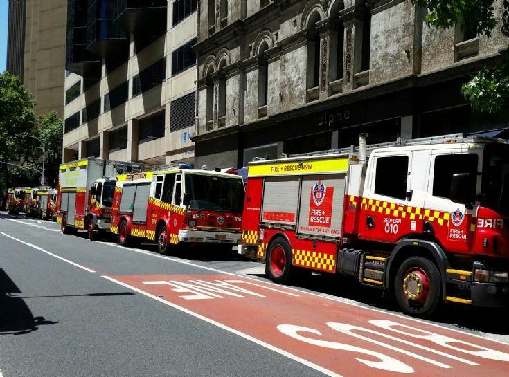 FRNSW trucks - Sydney Australia