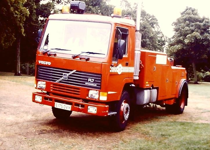 Volvo FL7/Safrec/ Bro Wrecker RecV W Yorks E175DVH
