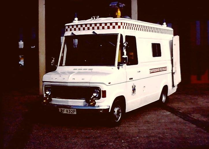 Ford A series CU Staffordshire LRF932P