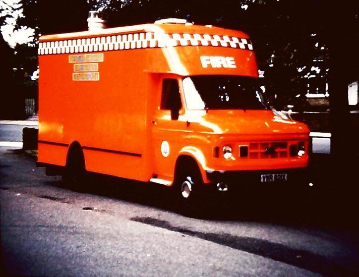 Ford A series W YorksCU VWR821X
