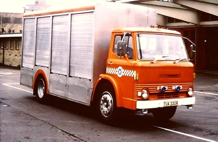 TUA330R Ford D HLL W Yorks