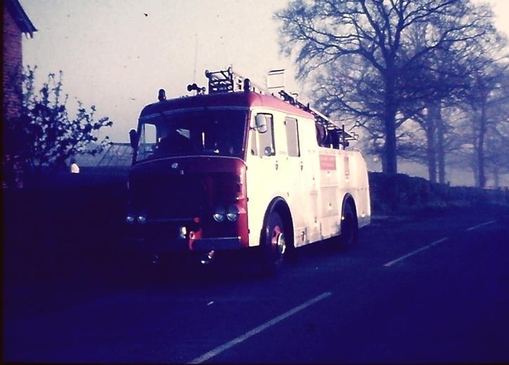 Dennis F38 WrL Cheshire