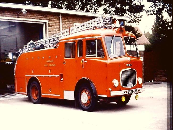981DMA Dennis F24A PL Cheshire