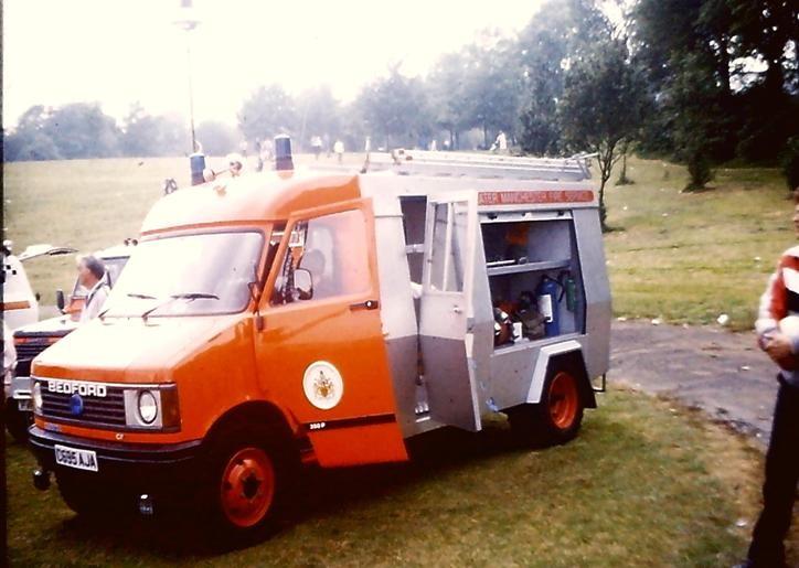 C695AJA Bedford CF/F&W L2P GMC