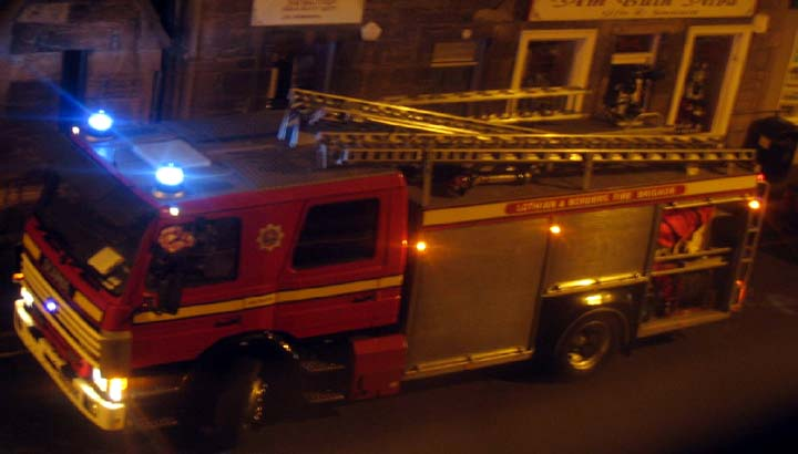 Lothian & Borders Retained Pump at a Shout