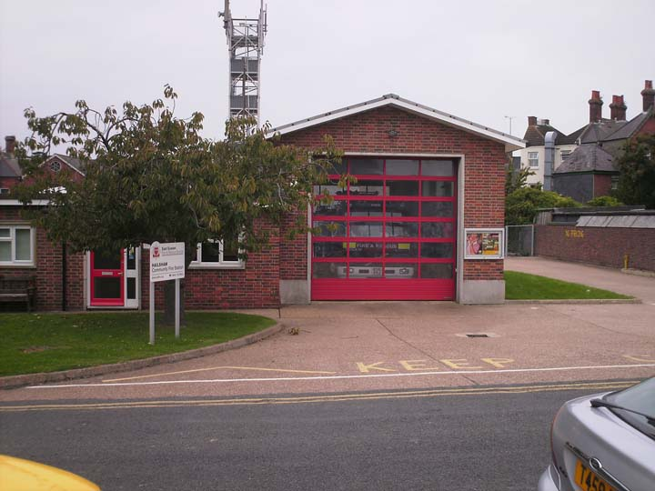 East Sussex Fire &  Rescue Hailsam Fire Station