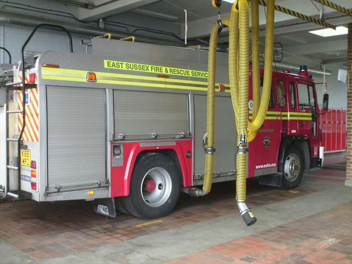 East Sussex Fire &  Rescue Crowborough Volvo