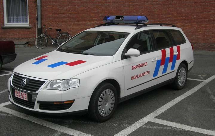 Brandweer Ingelmunster Volkswagen Passat