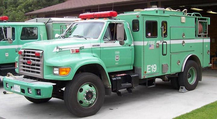 US Forest Service Wildland Engine
