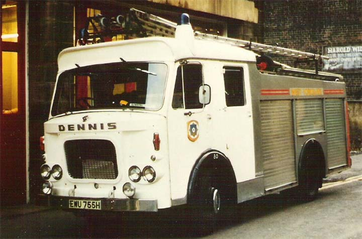 North Yorkshire Fire brigade Dennis F46