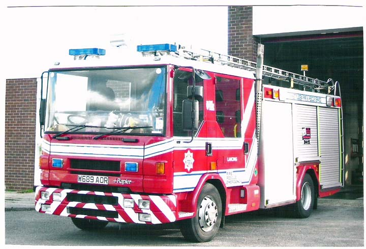 West Sussex FRS Dennis Rapier Lancing