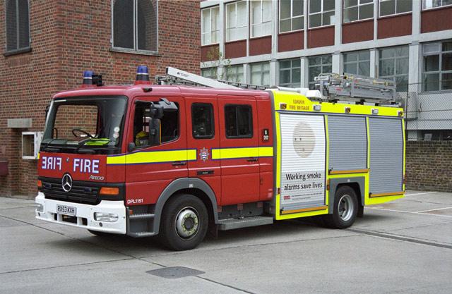 London Mercedes-Benz Atego DPL