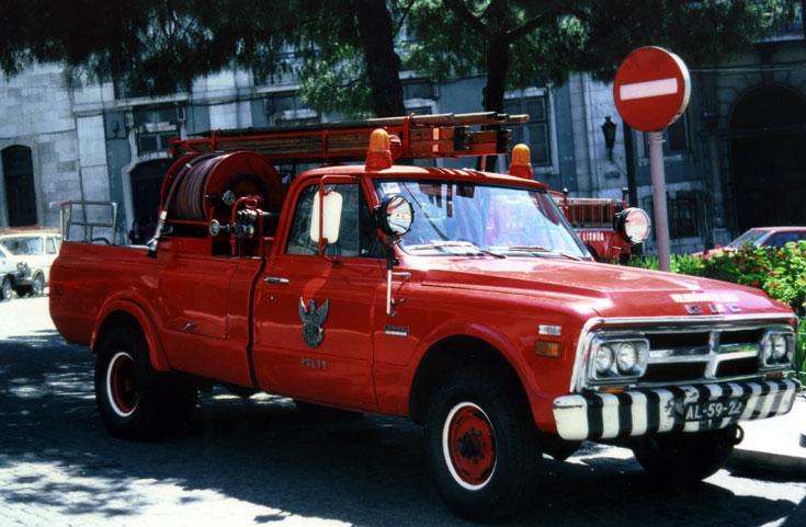 PSLTT GMC Fire pick-up
