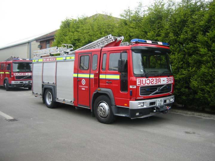 1st Pump North Yorkshire Fire Service York