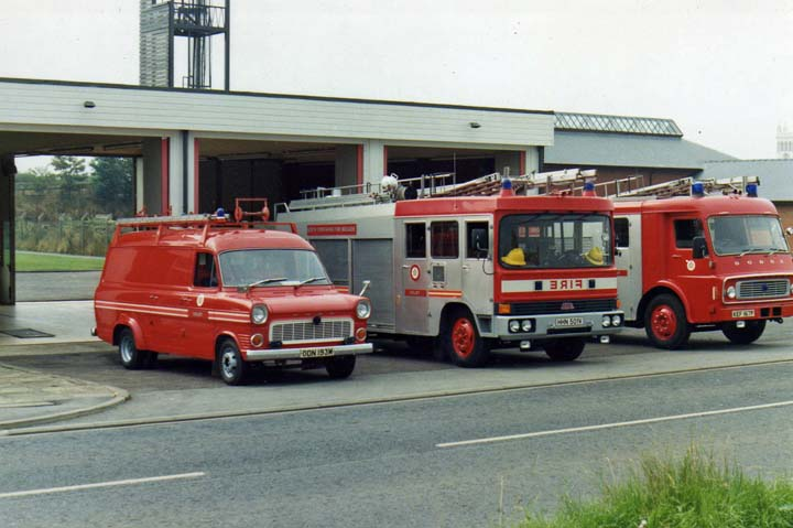 Selby Fire Station North Yorkshire