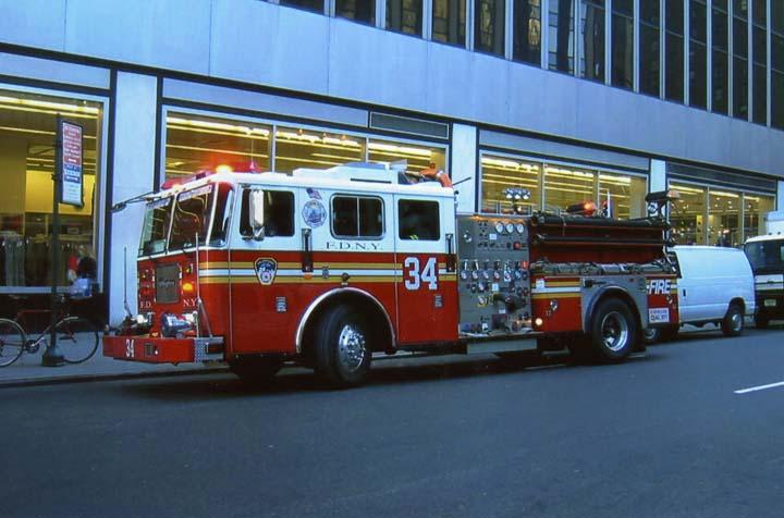 FDNY Engine 34 Maddison Square Garden