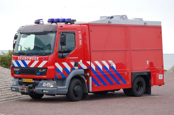 Brandweer Hellevoetsluis Emergency Tender DAF