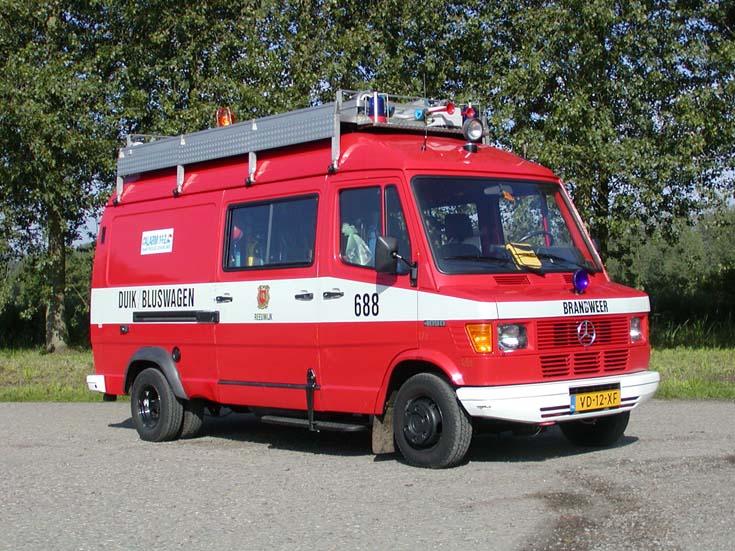 Brandweer Reeuwijk Mercedes Benz Diving Unit