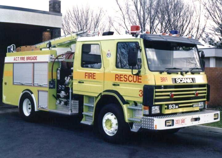 Australia Phillip Fire station Scania 93 Pumper