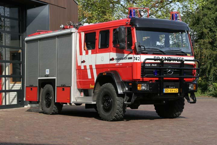 Brandweer Laren Mercedes Benz 1124AF