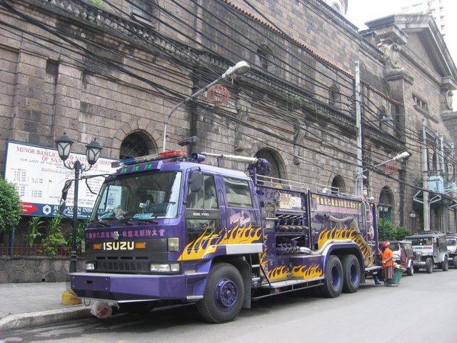 Binondo Paco Fire Search and Rescue truck