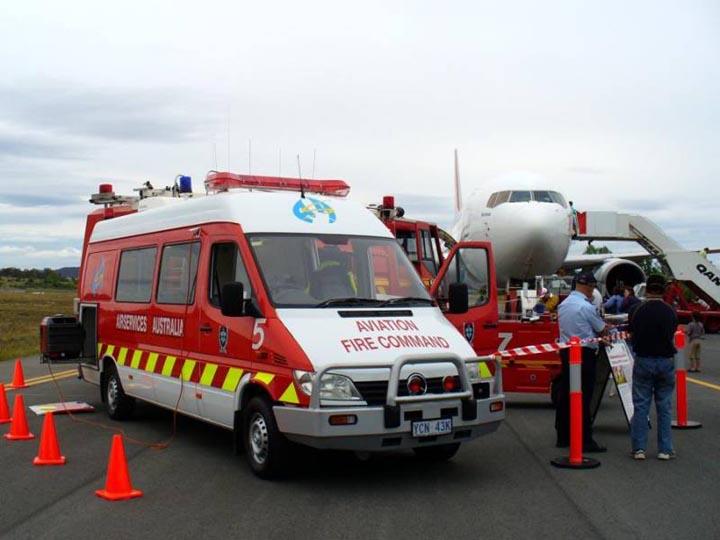 ASA ARFF, Command unit Canberra Airport