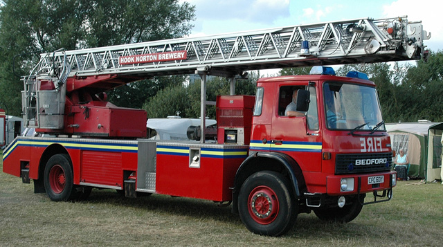 Bedford Turntable ladder