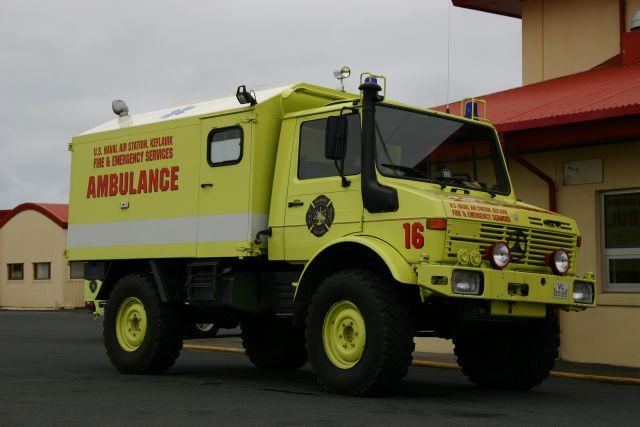NASKEF Ambulance Iceland