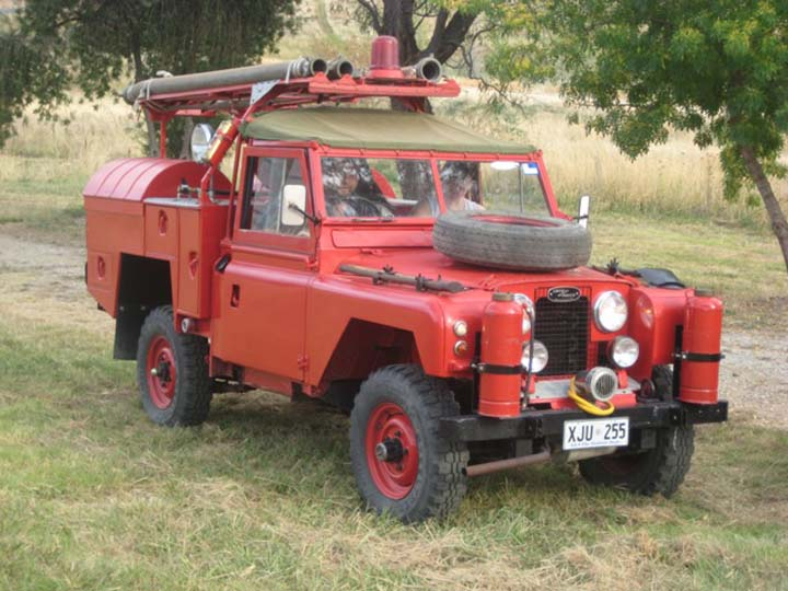 1964 SIIA Ex Australian Army Fire Tender