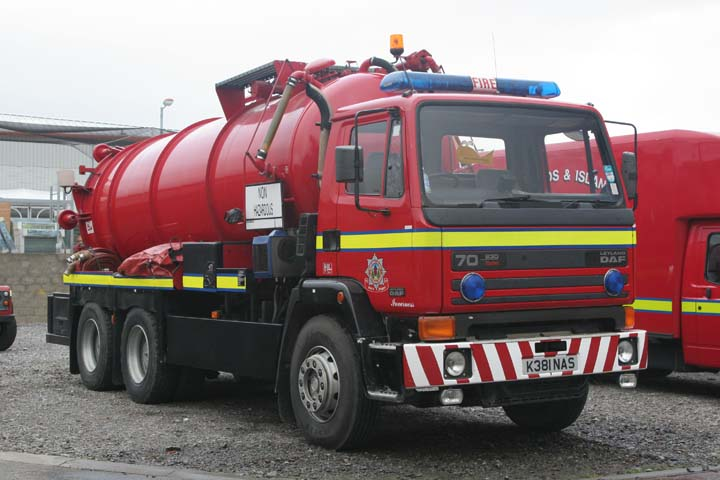 Highlands & Islands Fire &  Rescue DAF