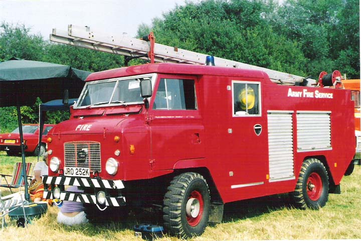 1972 Land Rover 101/Hcb-Angus Army Fire Service
