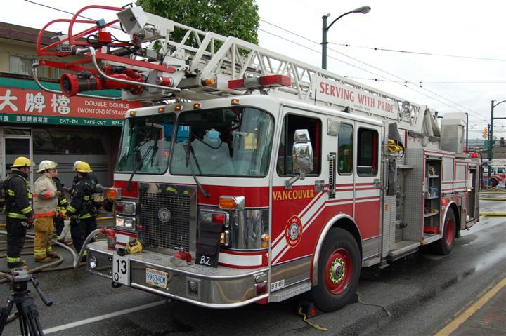 Vancouver Fire Rescue Service Quint 13