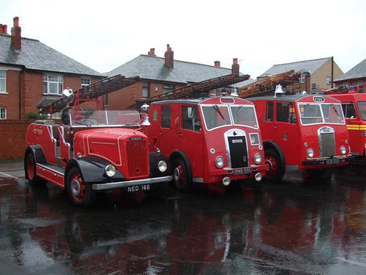 100 years of Dennis Fire Engines celebration