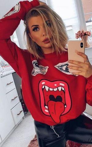 Samira Mouth Sweatshirt