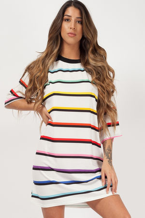 Lucy Striped Oversized T-shirt