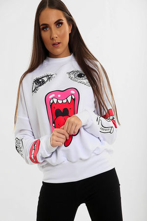 Samira Mega Jaw Jumper