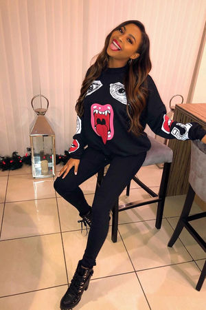 Samira Mouth Sweatshirt