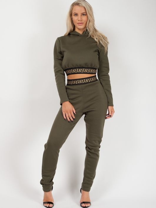 Patterned trim co-ord
