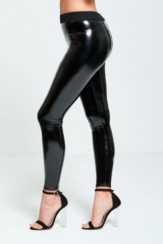 Vinyl Wet look Shiny Legging