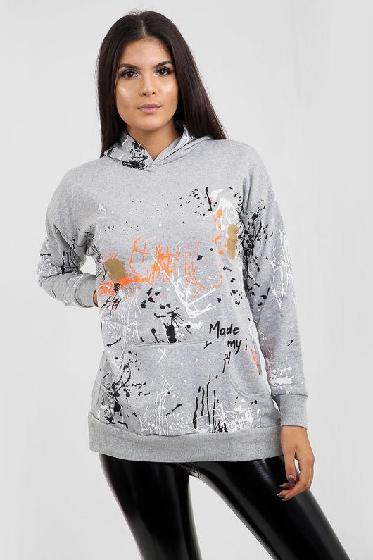 Graffiti Splatter Hoodie-Copy-Copy-Copy