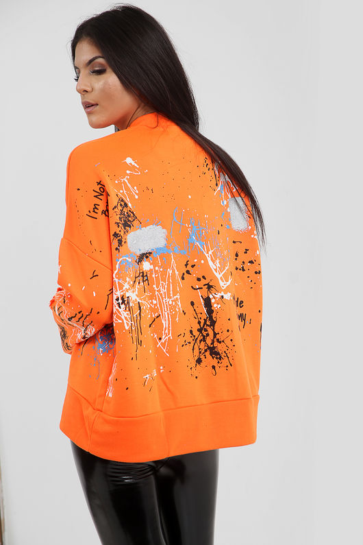 Graffiti Paint Splash Jumper-Copy-Copy
