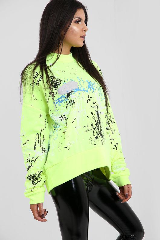 Graffiti Paint Splash Jumper-Copy-Copy-Copy