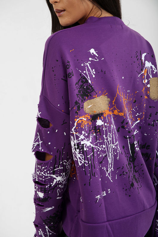 Graffiti Paint Splash Jumper-Copy-Copy-Copy-Copy-Copy