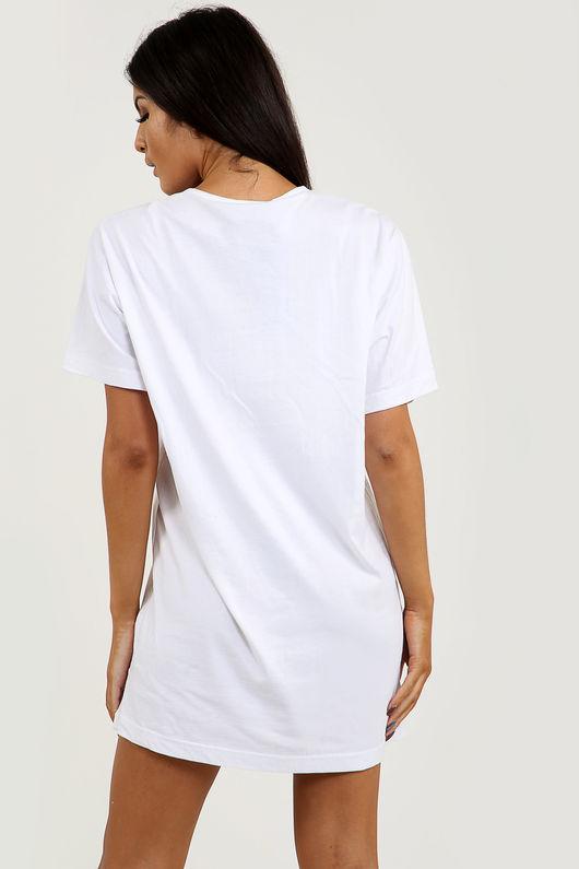 Super-Hot Graffiti T-shirt Dress