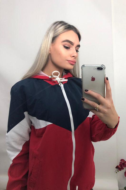 Colour Block Windsheater Jacket